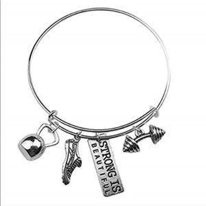 Jewelry - Wire Charm Bracelet